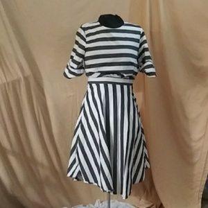 Who. What. Wear. Stripe dress